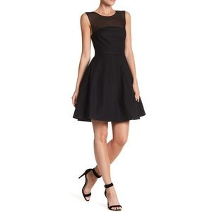 NEW Halston Heritage Sleeveless Dress in Black